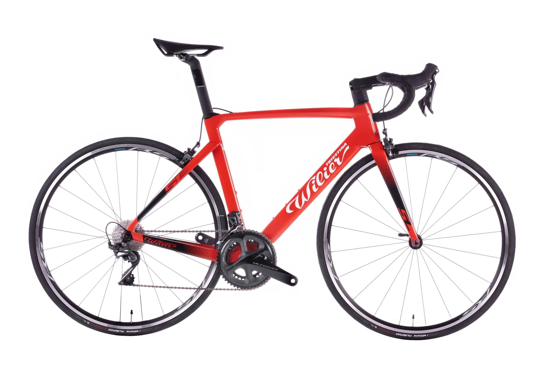 kolo CENTO10 SL Ráf.+ULTEGRA + RS100 red black  L