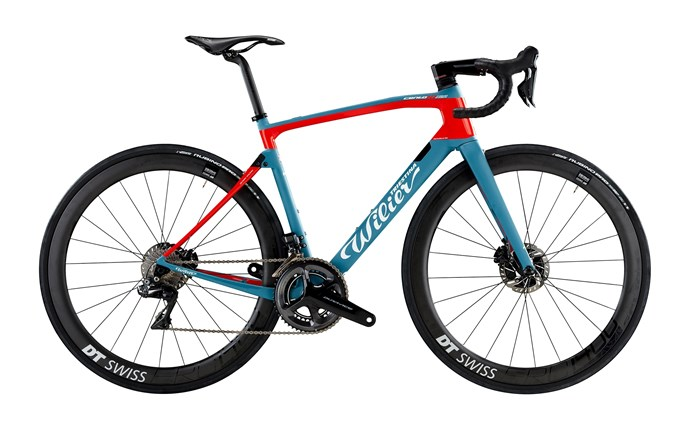 kolo CENTO10NDR Disc+D.A. Di2+DT1400 blue red XL