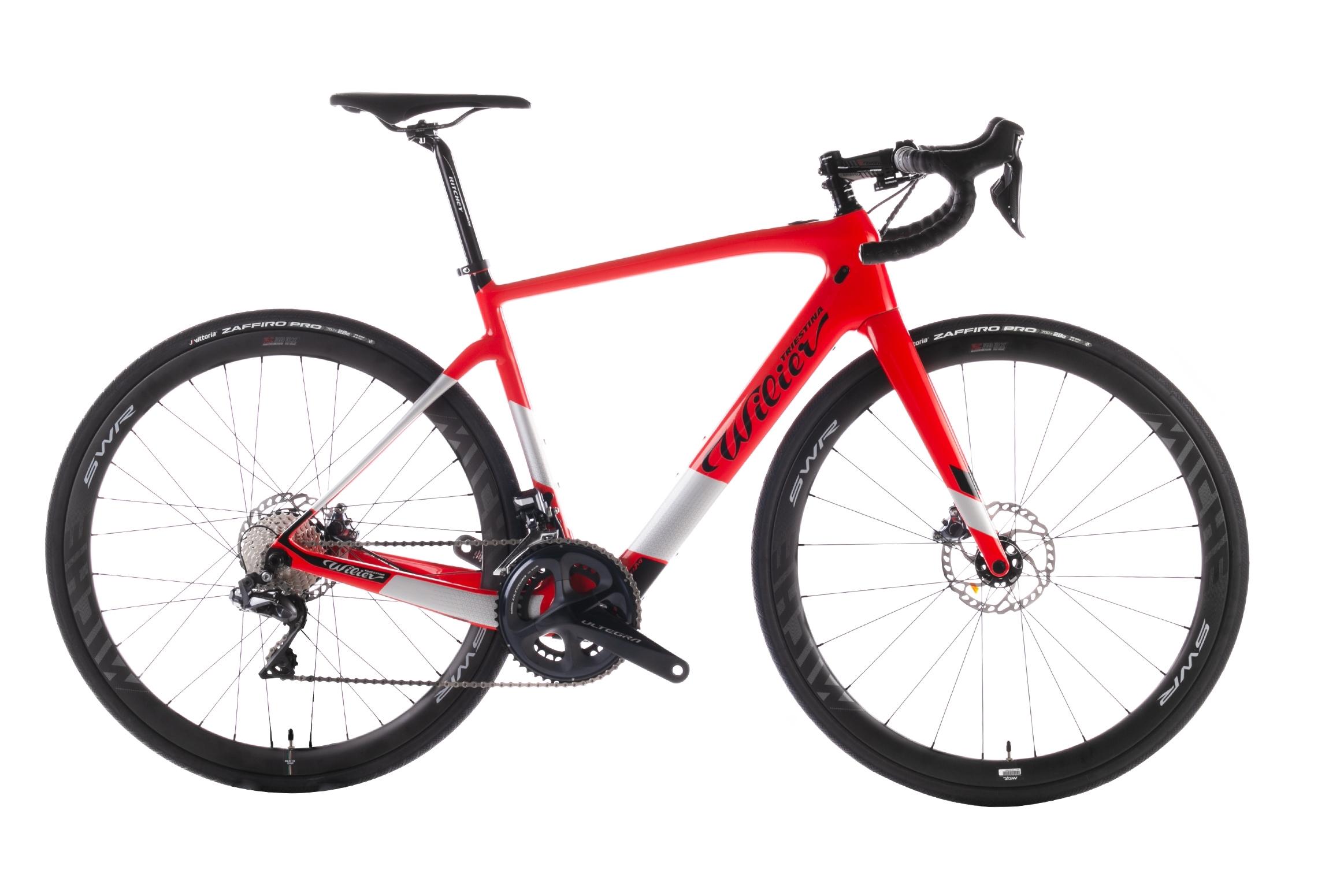 kolo CENTO1HY+ULTEGRA Di2 8070+REVOX red glossy  L