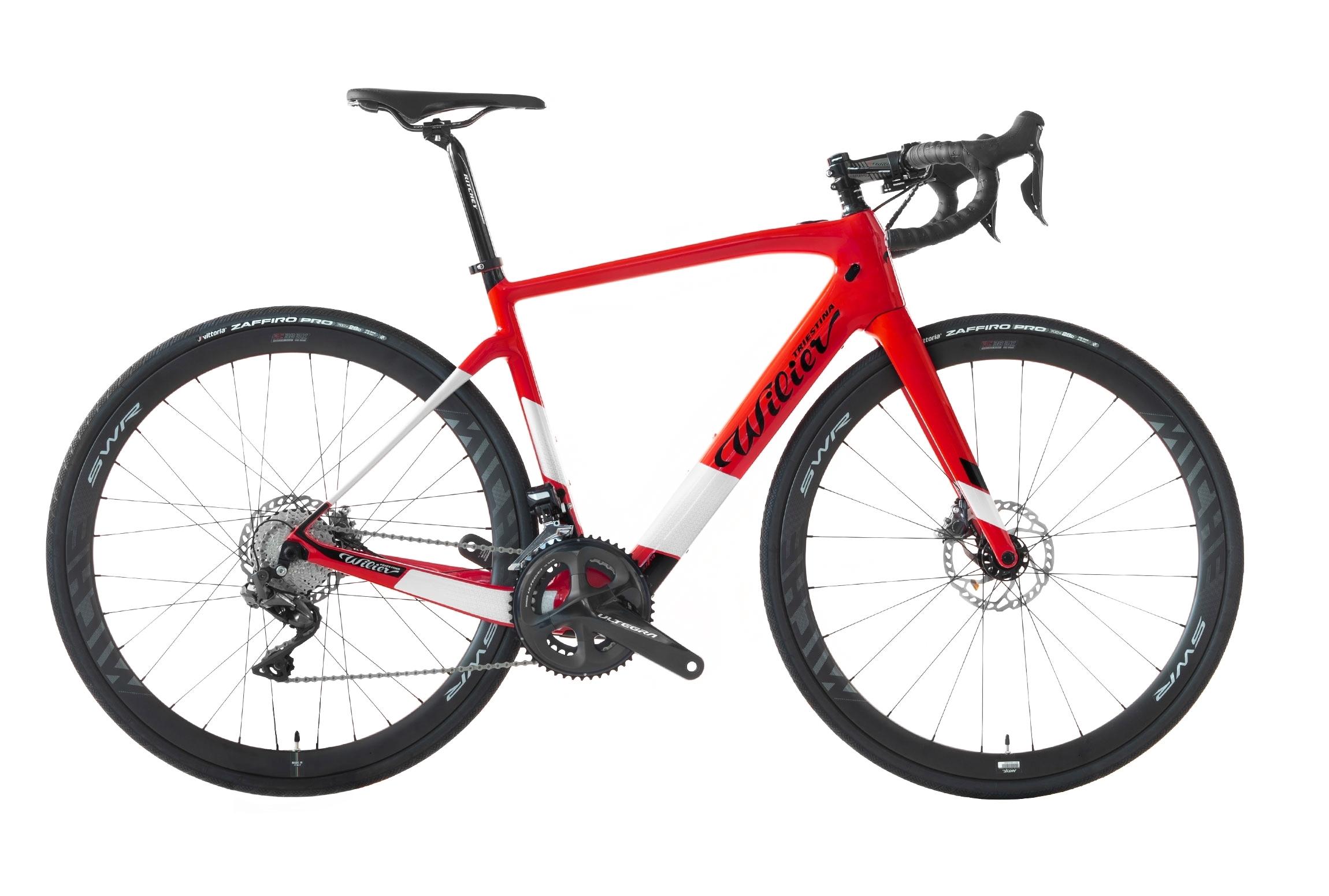 kolo CENTO1HY + ULTEGRA R8020 + MICHE red glossy M