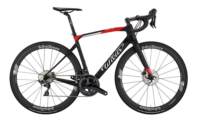 kolo CENTO1NDR Disc+ULTEGRA+TRIMAX  black-red   L
