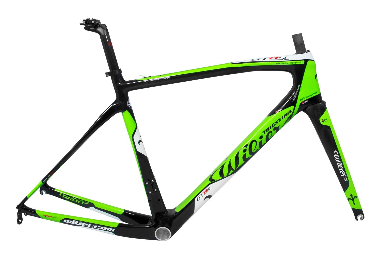 rám GTR SL carbon/ acid green glossy XL