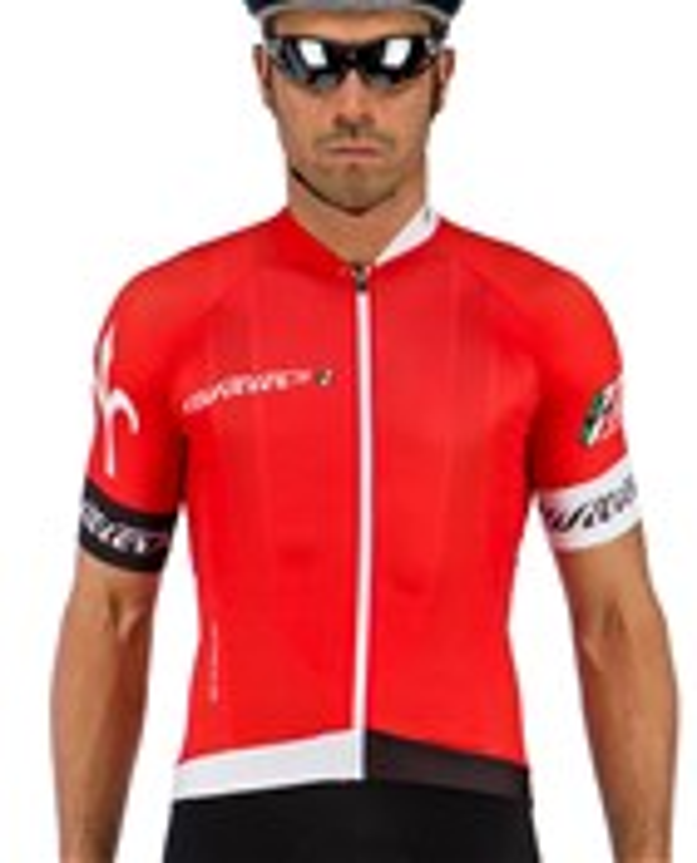 dres WILIER 110 krátký rukáv, červený