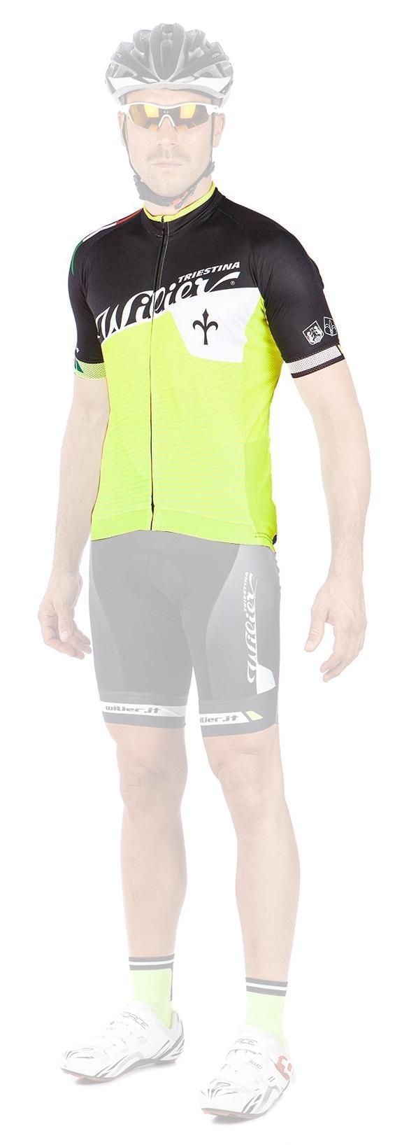 dres WILIER FLASH krátký rukáv - model 2015
