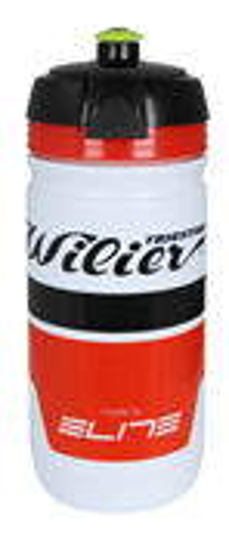 láhev WILIER 0,55 l, model 2017 bílo-černá