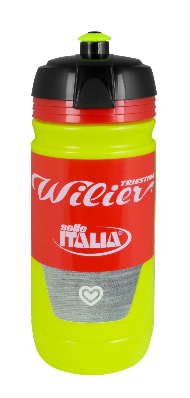 láhev WILIER 0,55 l, TEAM WILIER-SELLE ITALIA Fluo