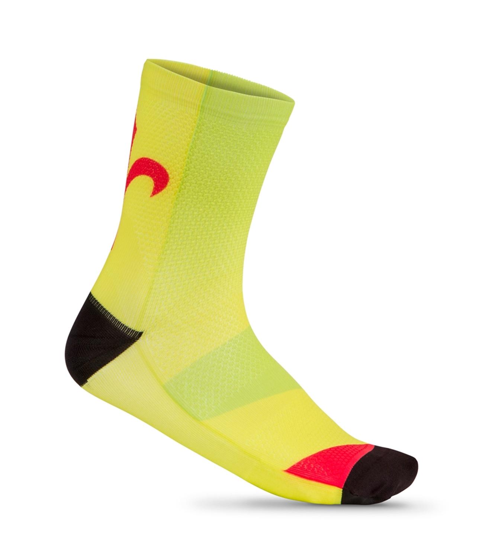ponožky WILIER POP fluo-červené UNI