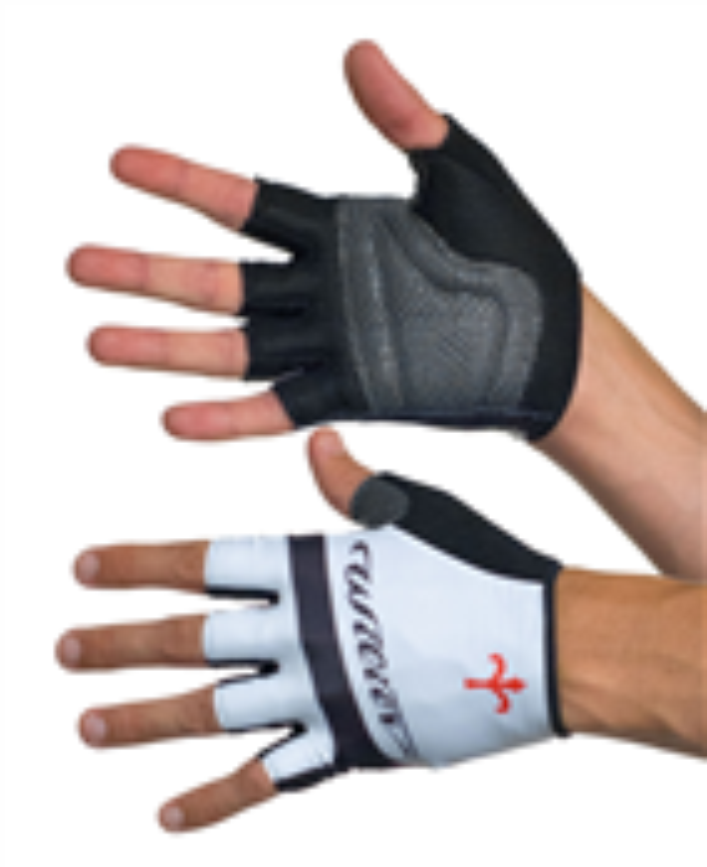 rukavice WILIER bez zapínání, bílé