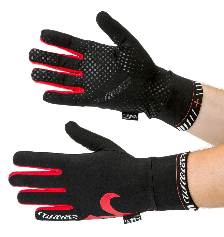 rukavice WILIER, černo-červené