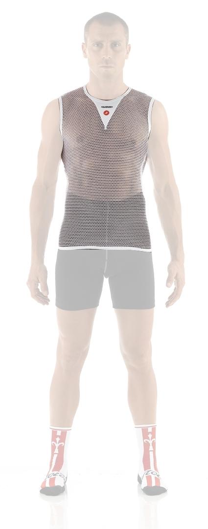 triko MESH  bez rukávů